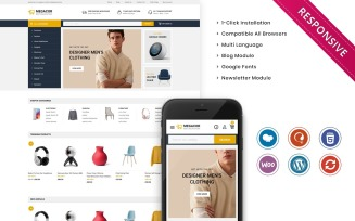 Megacor - The Fashion Store Responsive