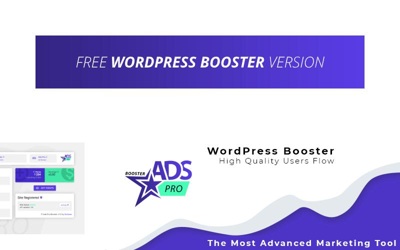"""Free WP Booster by Ads Pro"" - адаптивний WordPress плагін №123372"