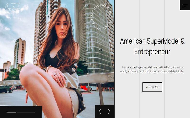 Model Portfolio Multipurpose HTML By WINK №123374