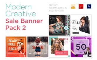 6 Modern Banner Pack 2