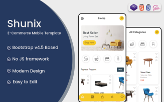 Shunix Website Template