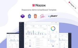 Nazox - Angular 10 Admin Template