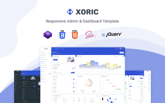 Xoric - Responsive Landing Page Template