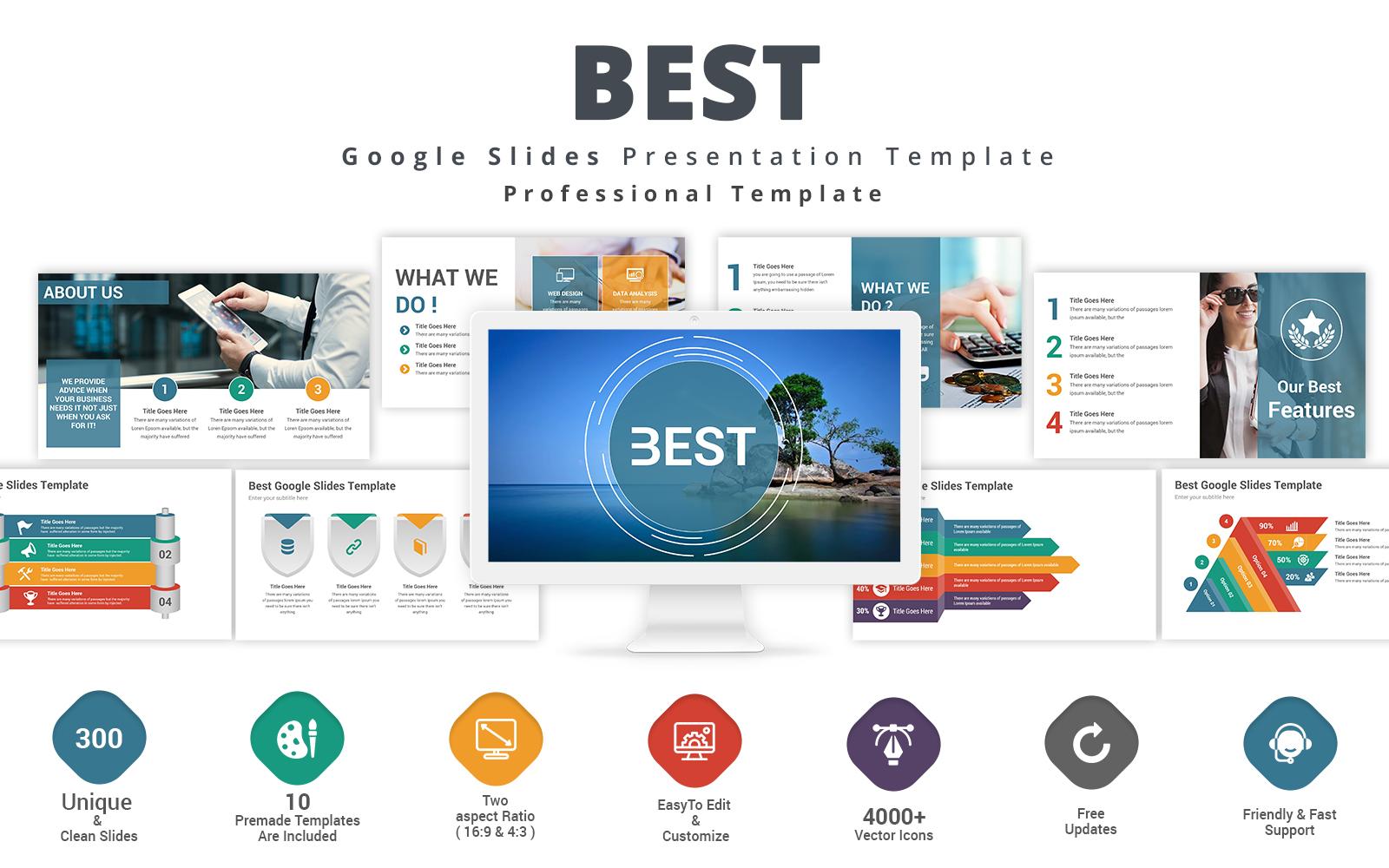 Premium Best Google Slides #123931