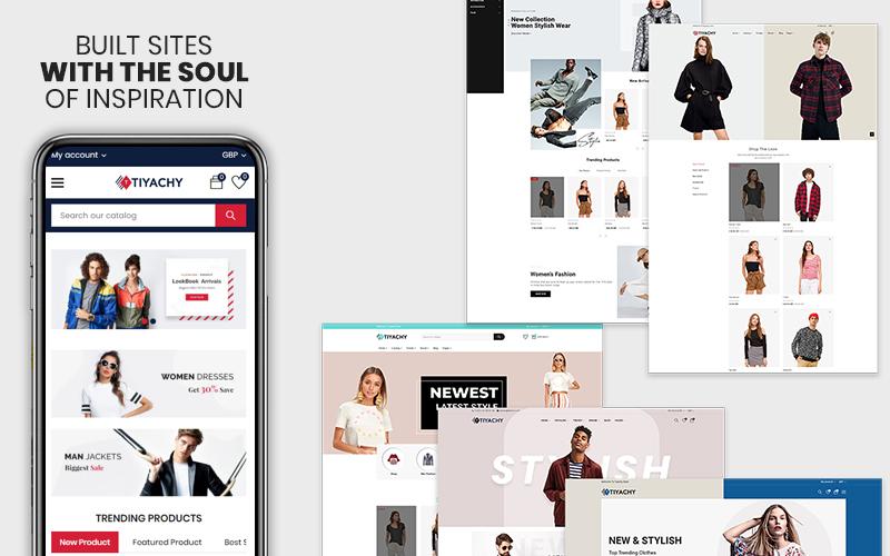 Responsywny szablon Shopify Tiyachy -  The Fashion Responsive Multipurpose Premium #123955