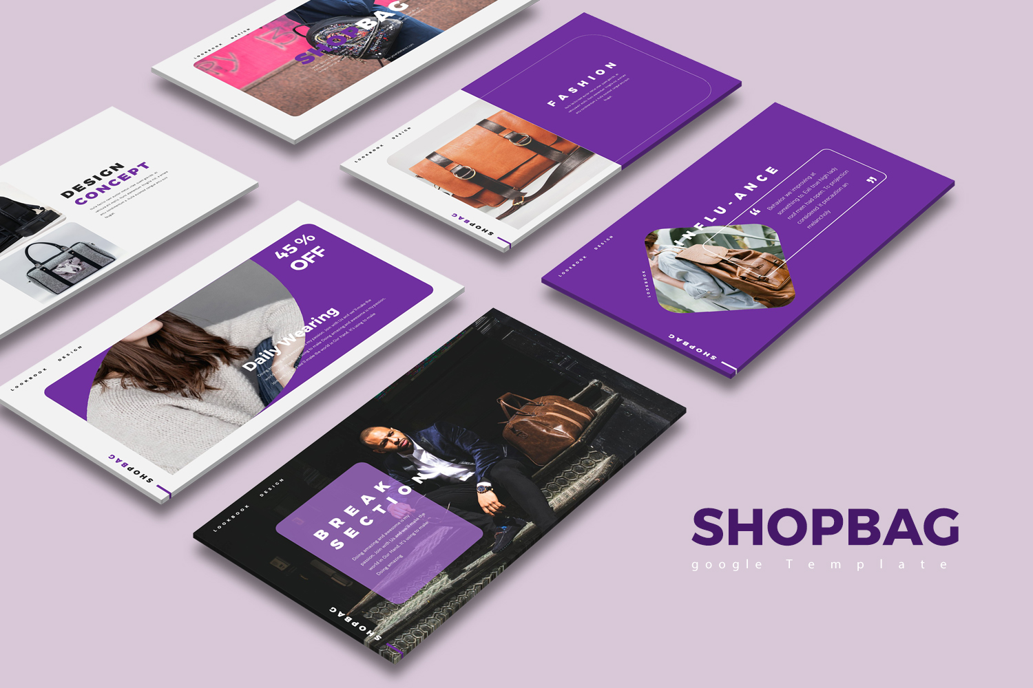ShopBag Google Slides 123934