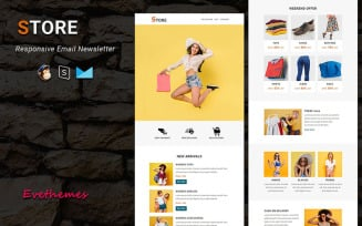 Store - Responsive Email Newsletter Template