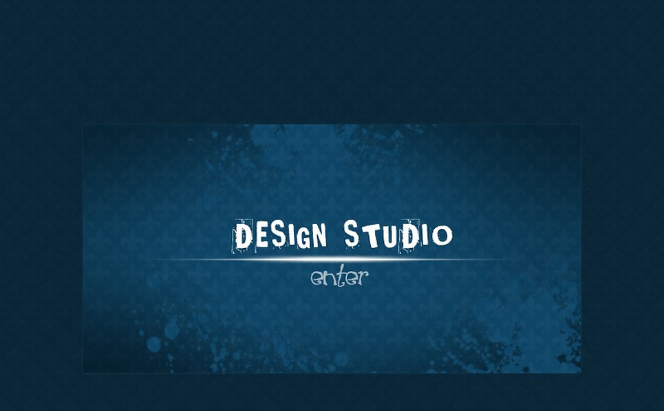 Flash Intro Vorlage für Designstudio  New Screenshots BIG