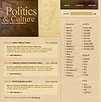WordPress: Low Budget Politics WordPress Themes