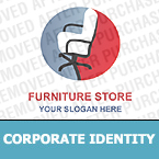 Furniture Corporate Identity Template 12421