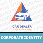 Cars Corporate Identity Template 12425