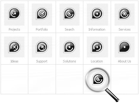 Icon Set Template 12447 Screenshots