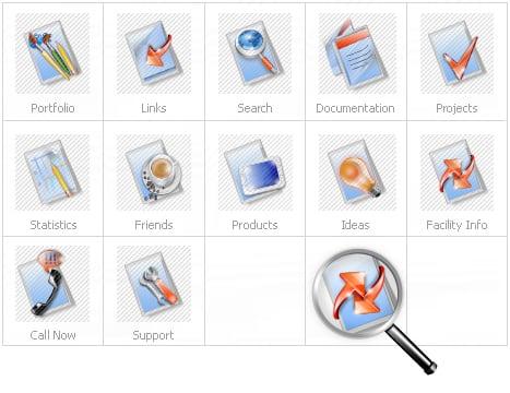 Icon Set Template 12449 Screenshots
