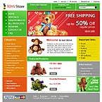Zen Cart: Entertainment Online Store/Shop Zen Cart Templates