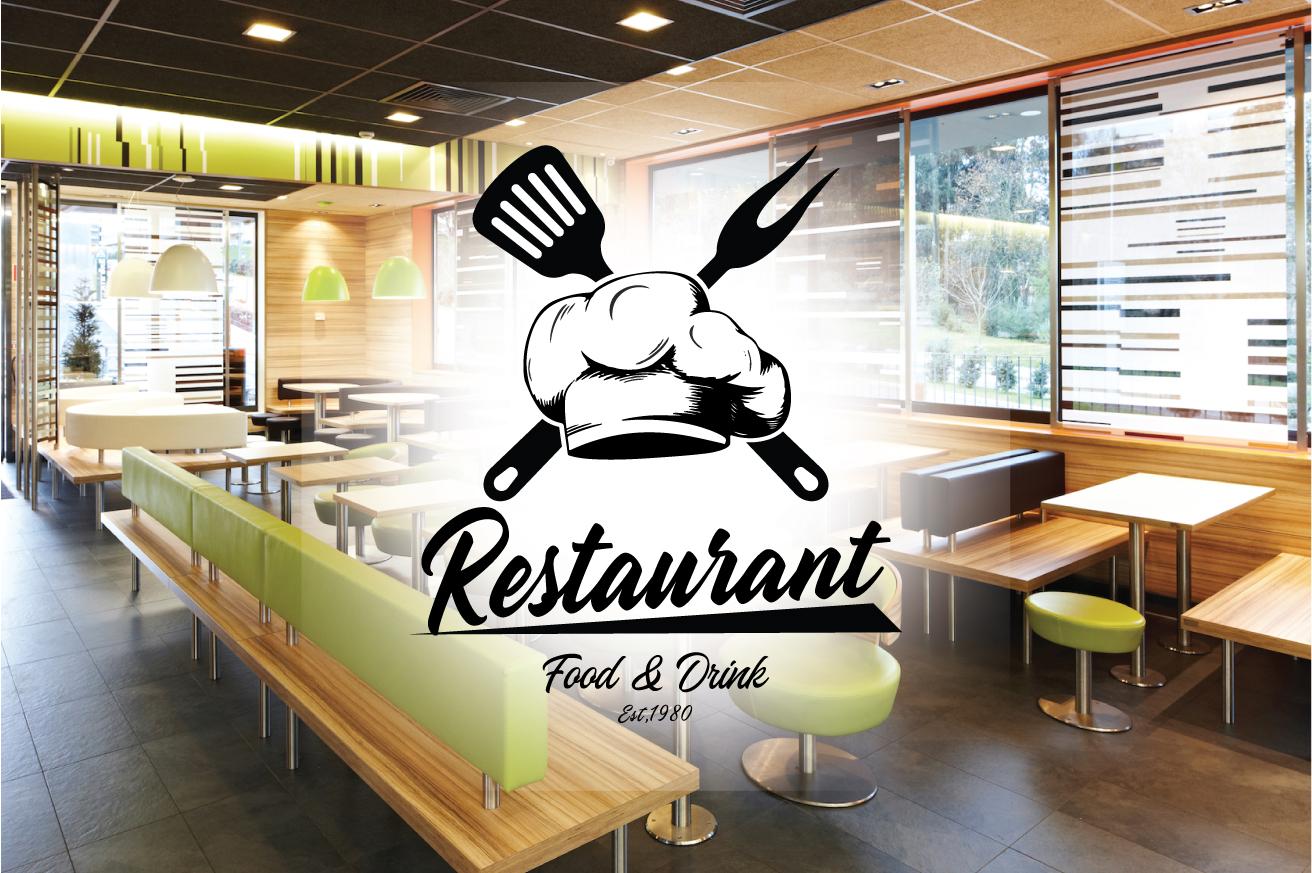 """Restaurant"" logo标志模板 #124111"