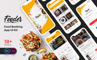 Fooder Mobile App