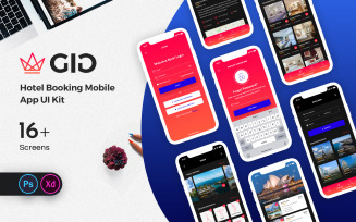 GiG Hotel Booking Mobile App