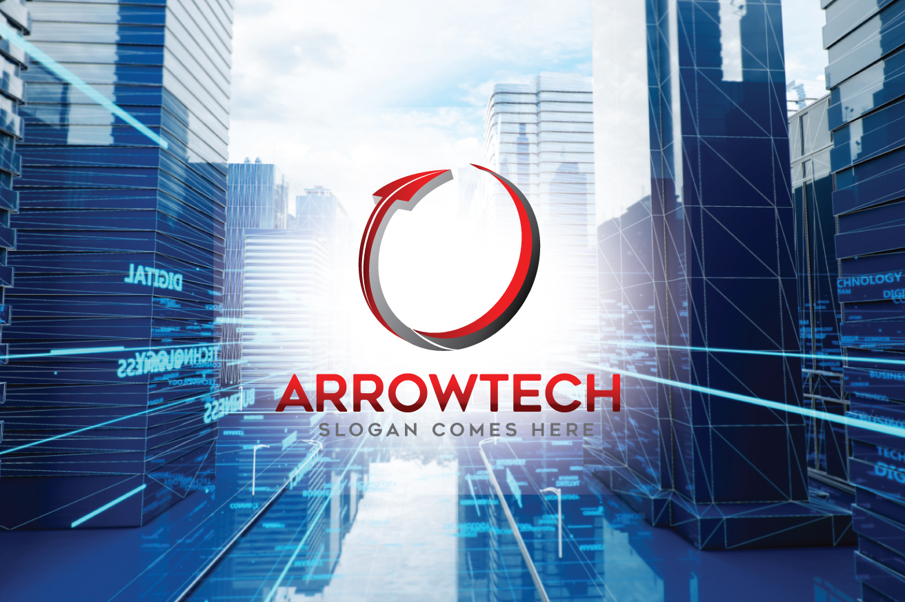 Arrowtech Logo Template