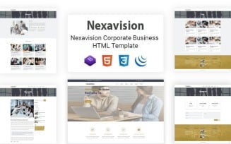 Nexavision - Responsive Multipurpose Creative Corporate Website Template
