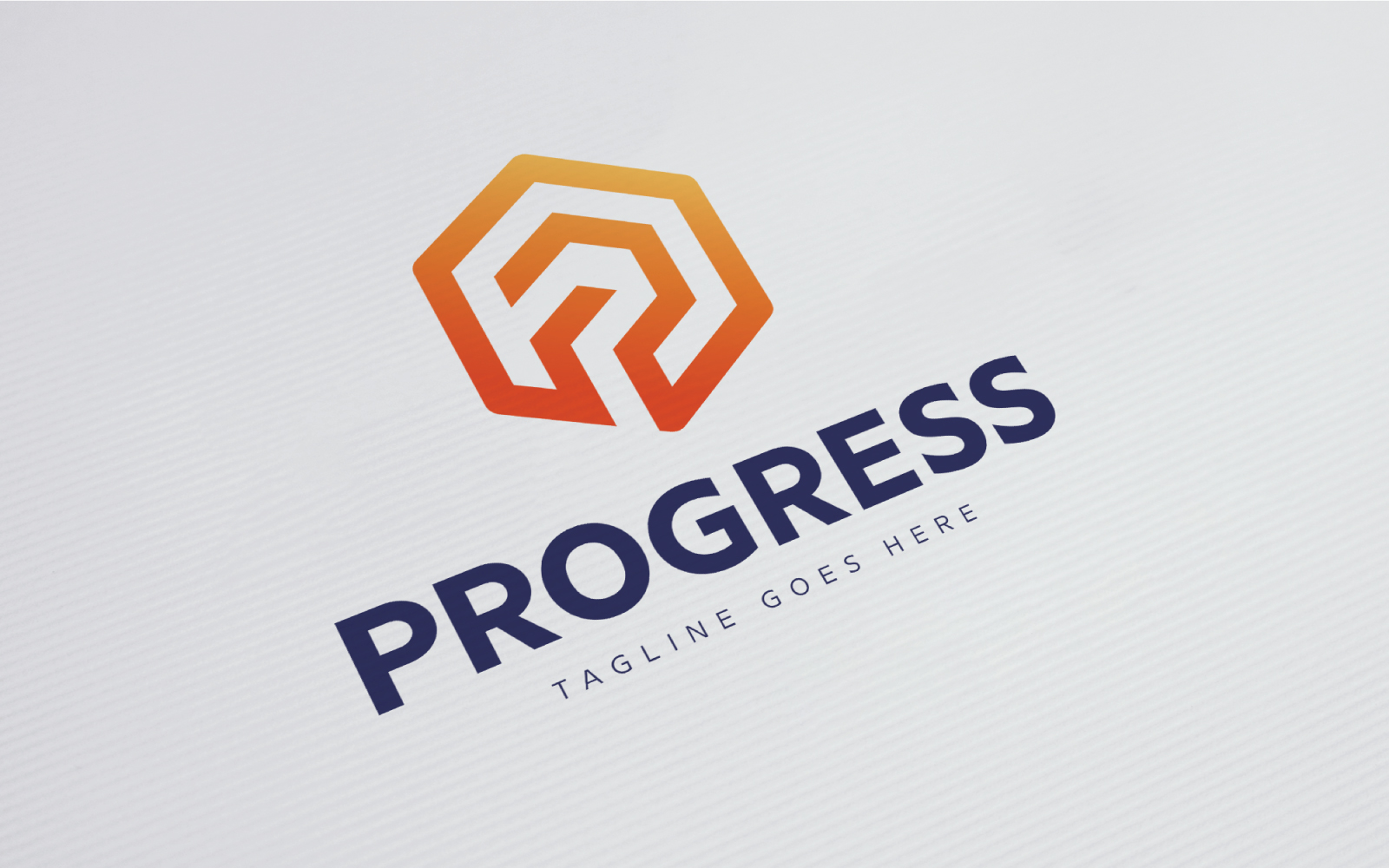 Progress Template de Logotipo №124277