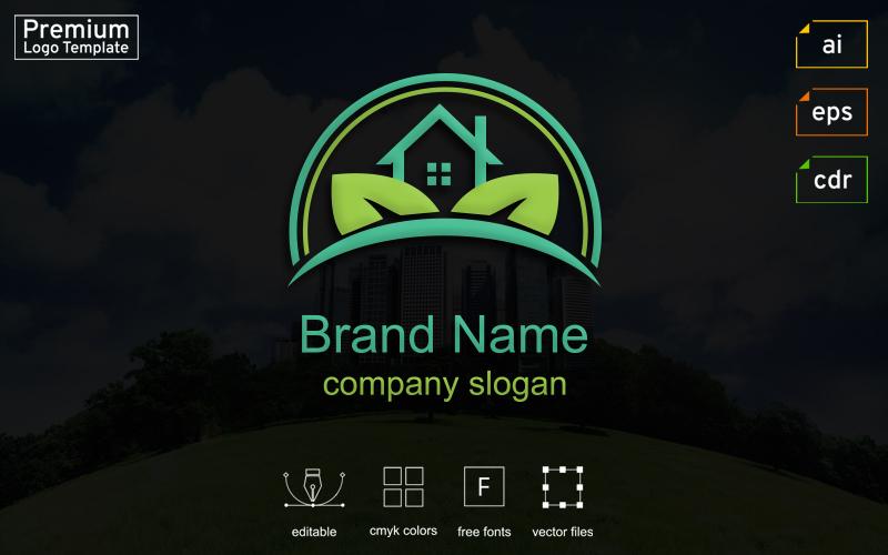Real Estate Business Logo #124292