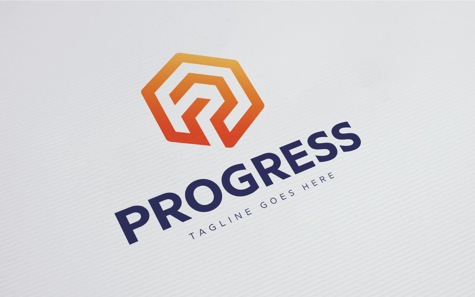"Šablona logotypu ""Progress"" #124277"