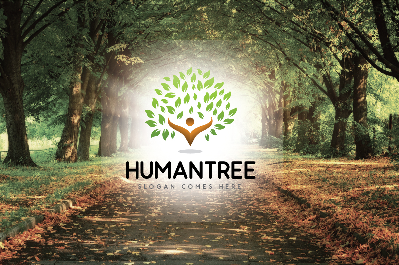 "Template di Loghi #124279 ""Humantree"""