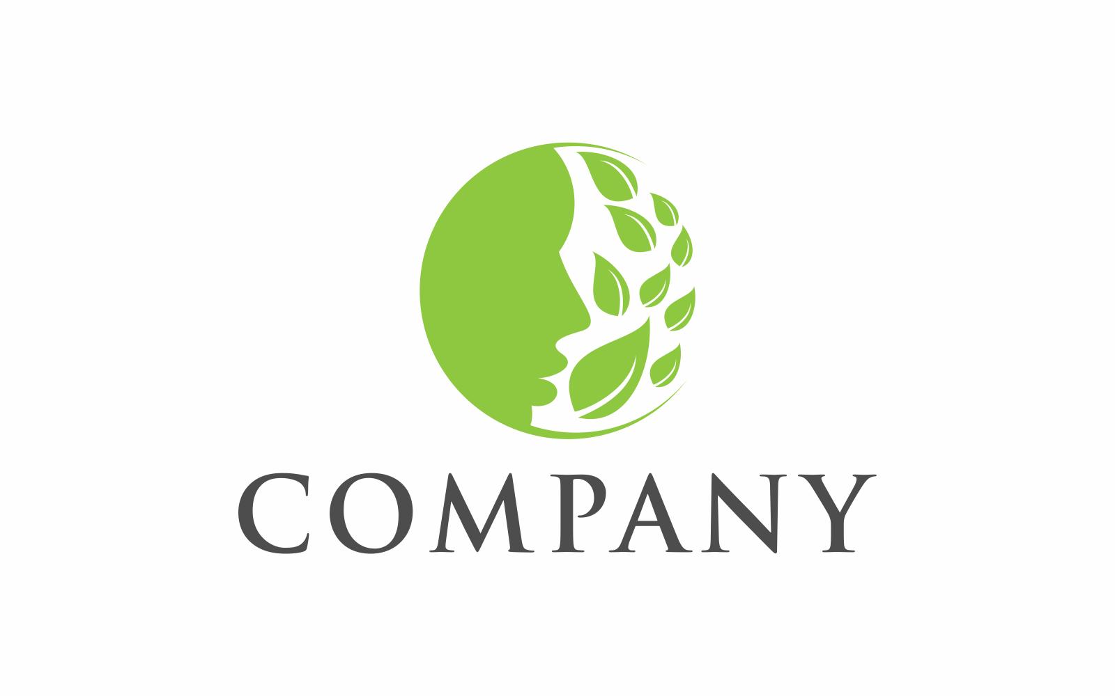 """""""Green Man"""" Logo template №124310"""