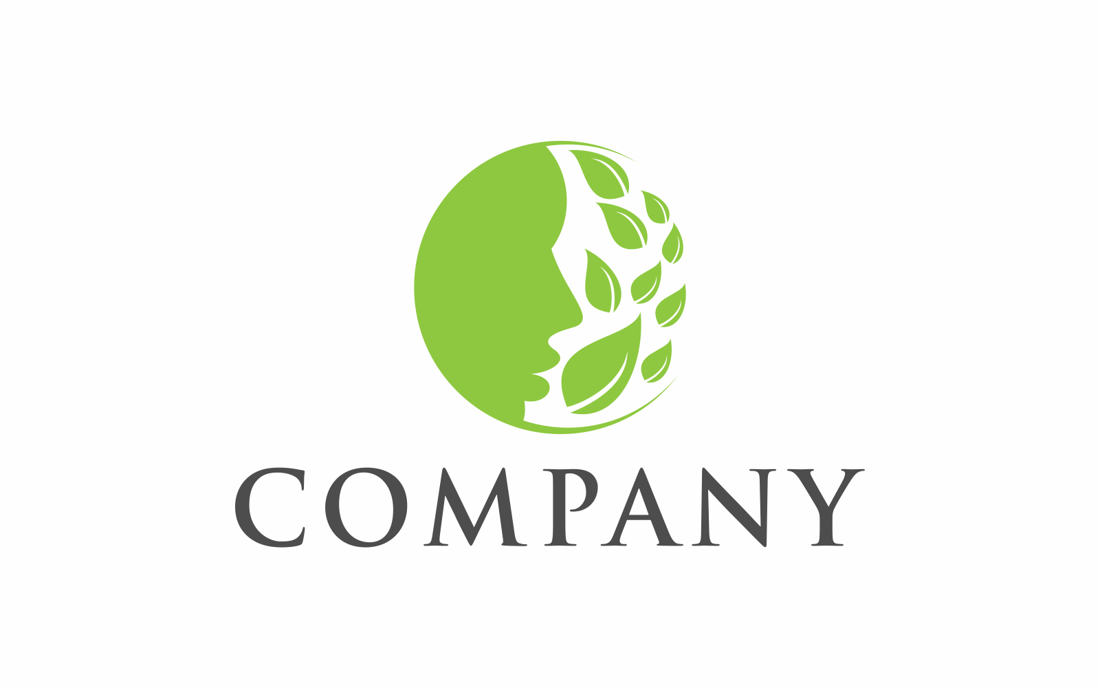 "Plantilla De Logotipo ""Green Man"" #124310"