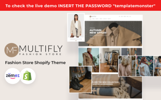 Multifly - Modern Fashion Store Template