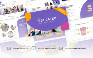 Educated – Education Course - Keynote template