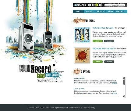 Website Template #12539