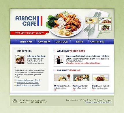 Realizare site restaurant si cafenea