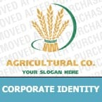 Agriculture Corporate Identity Template 12587