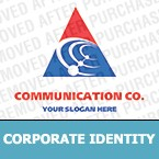 Communications Corporate Identity Template 12588