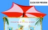 Szablon Intro Flash #12523 na temat: biuro podróży i turystyki FLASH INTRO SCREENSHOT