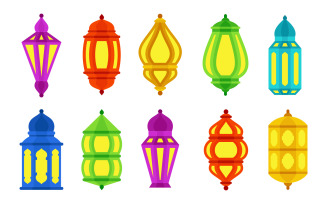 Decorative Lantern Set