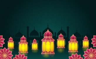 Decorative Lantern Mosque