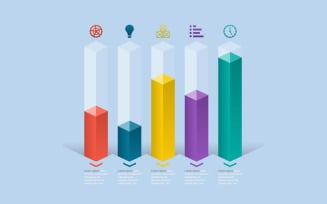 Analytic Statistical Data Infographic Elements
