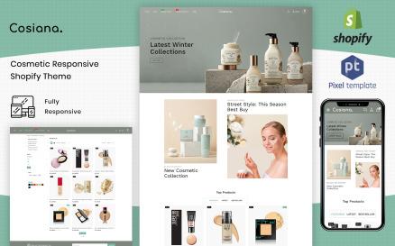Cosiana - Cosmetics Ecommerce Shopify Theme