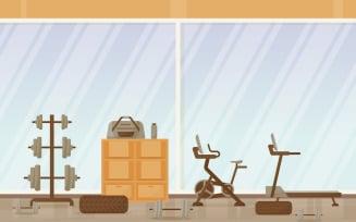 Sport Gym Club - Illustration