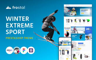 Frostal - Winter Extreme Sports eCommerce