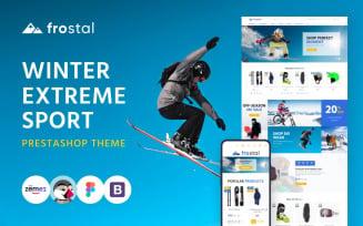 Frostal - Winter Extreme Sports eCommerce PrestaShop Theme