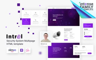 Introl - Security Company Responsive Website Template