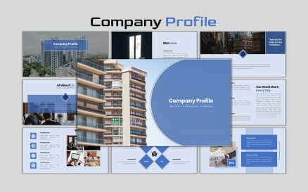 Company Profile - Creative Business PowerPoint Template