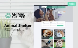 Animal Shelter Web Design Free