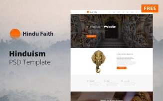 Hindu Faith - Hinduism Website Design Free