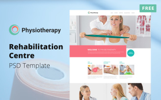 Physiotherapy - Rehabilitation Centre Design Free