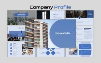 Company Profile - Creative Business Plan Google Slides
