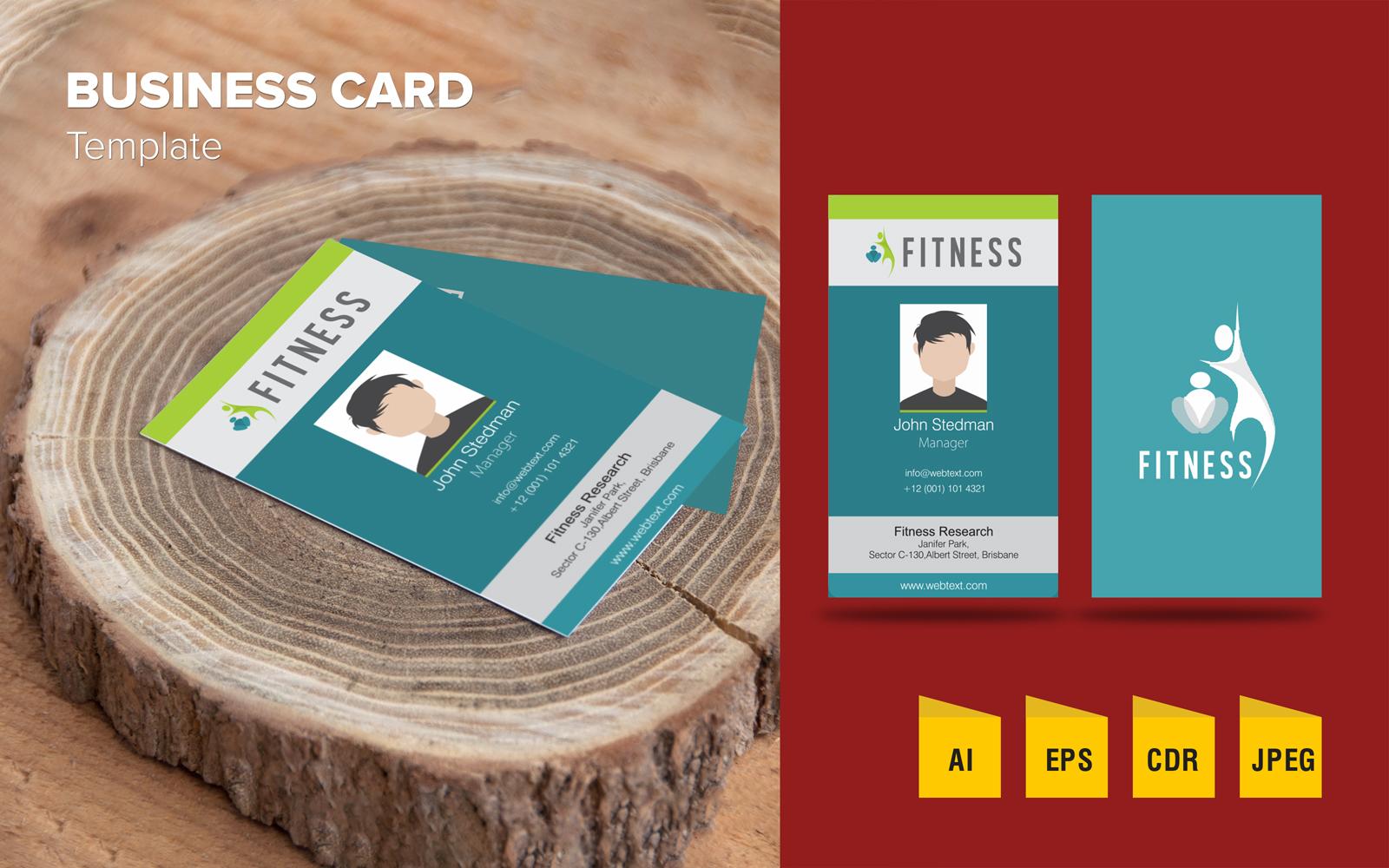 """Elegant Business Card Design"" 企业设计模板 #125793"